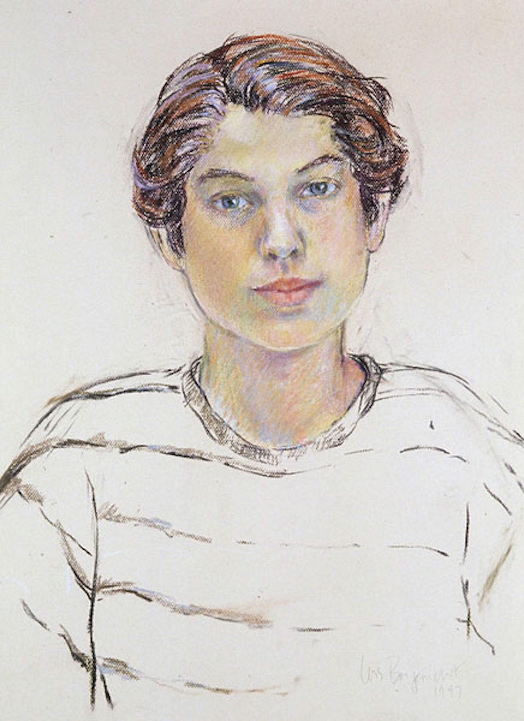 Pastel Portrait, Ben