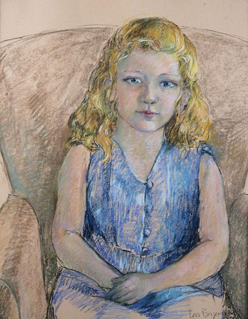 Pastel Portrait, Grace
