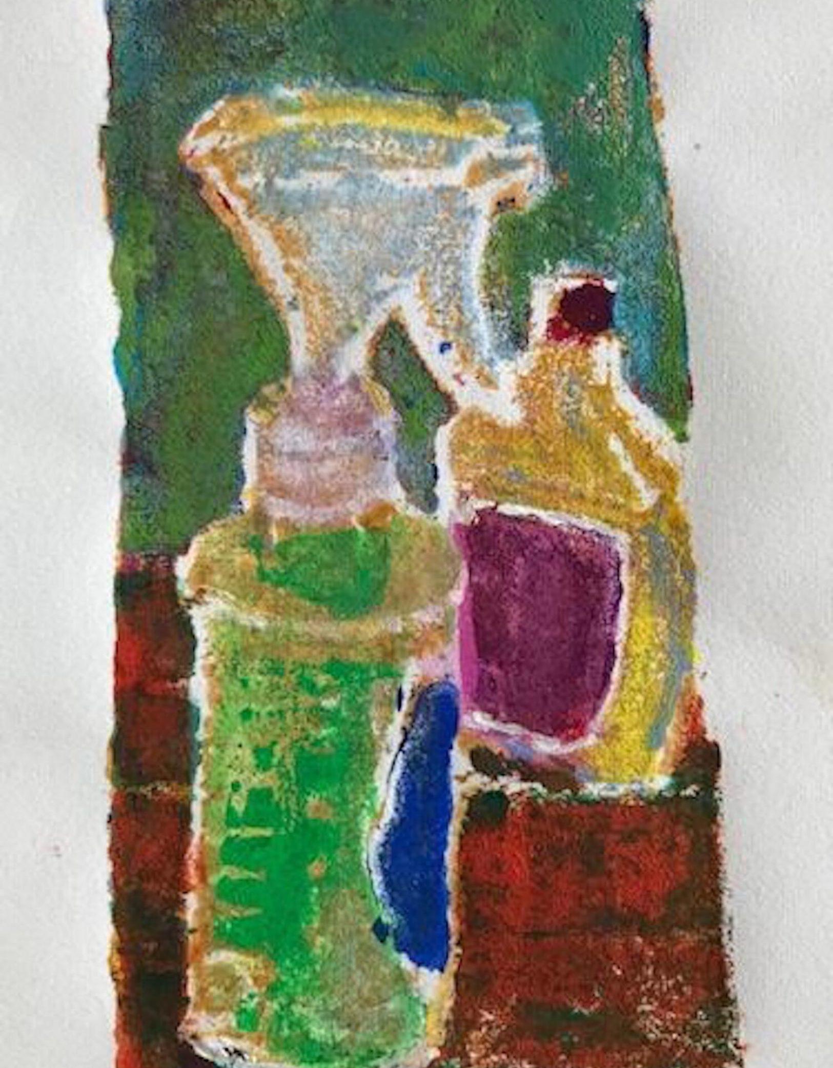 Studio Bottles, Soft Block Print, 4 .75